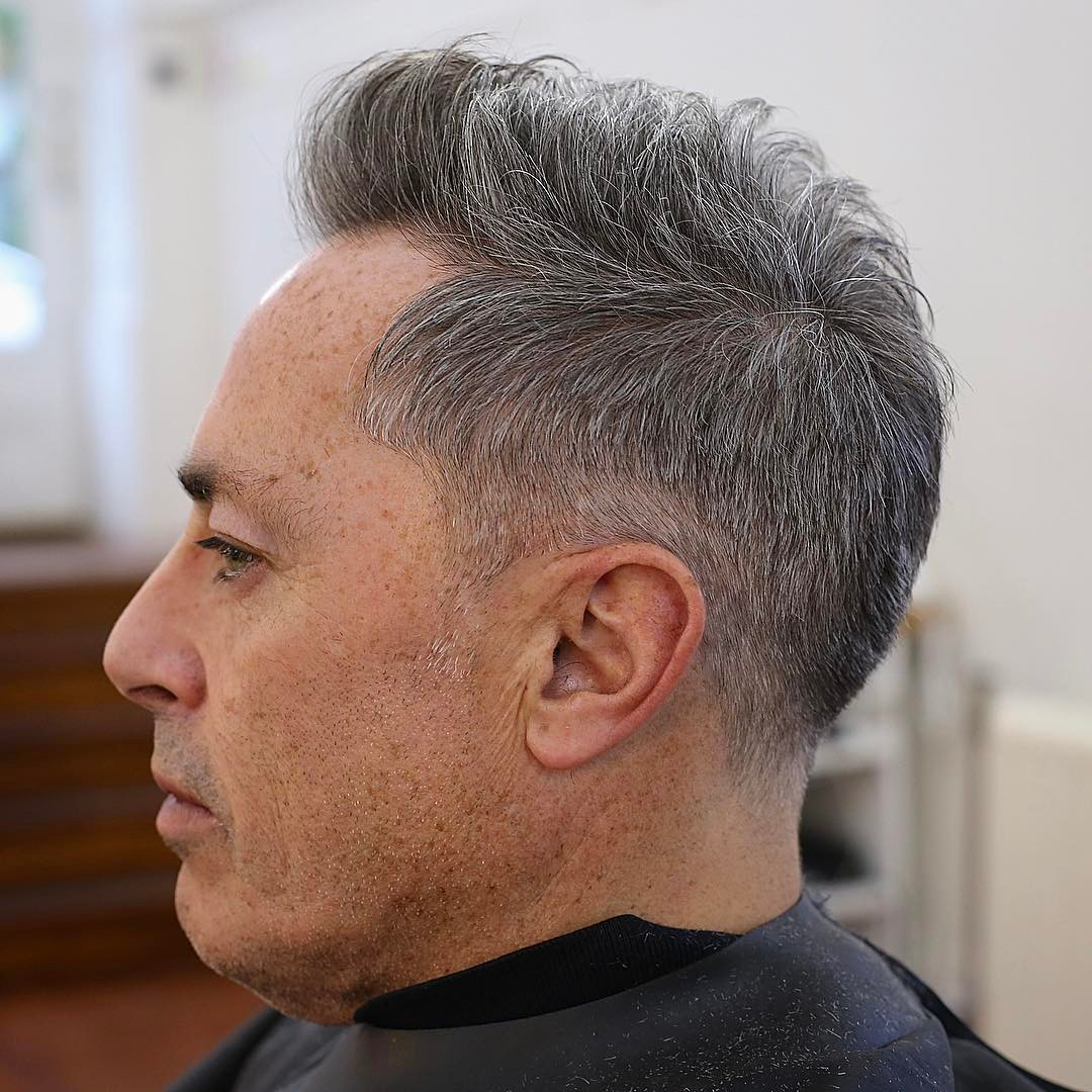 Hairstyles for Older Men , Smart, Cool and Funky Hairstyles