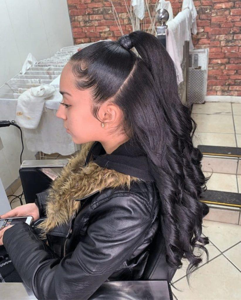girl ponytail hairstyles