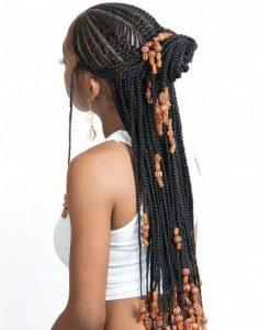 2 cornrows braids styles