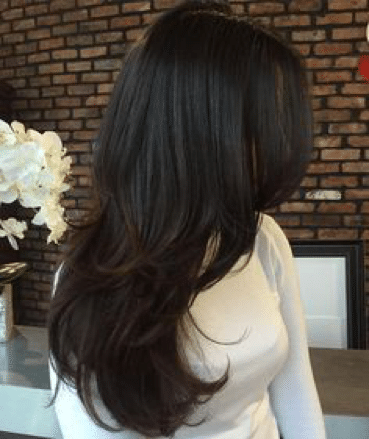 haircuts for thin long hair indian