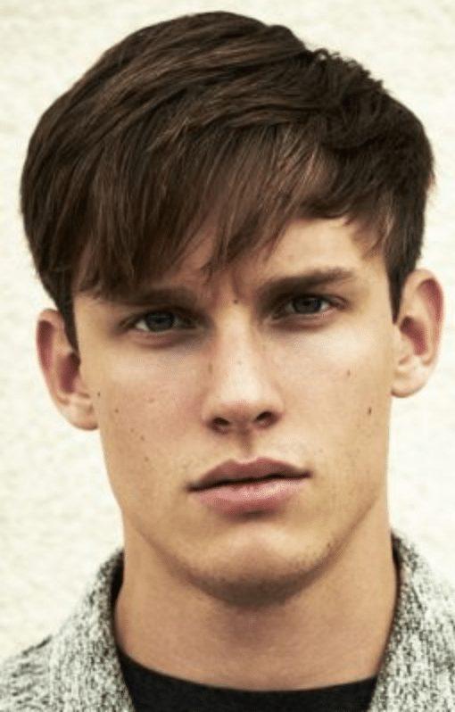 medium cut hair men