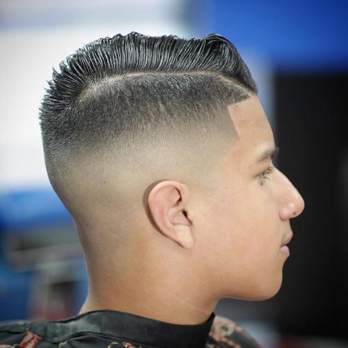 fauxhawk Teenage Guy Hairstyles