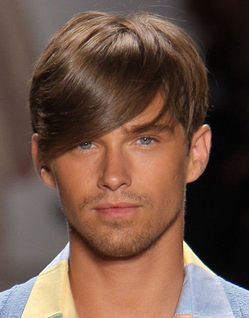 side bangs men