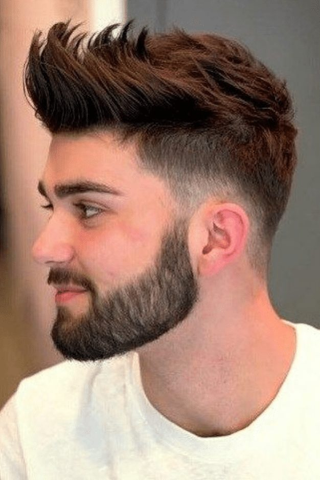 spikes hairstyle men