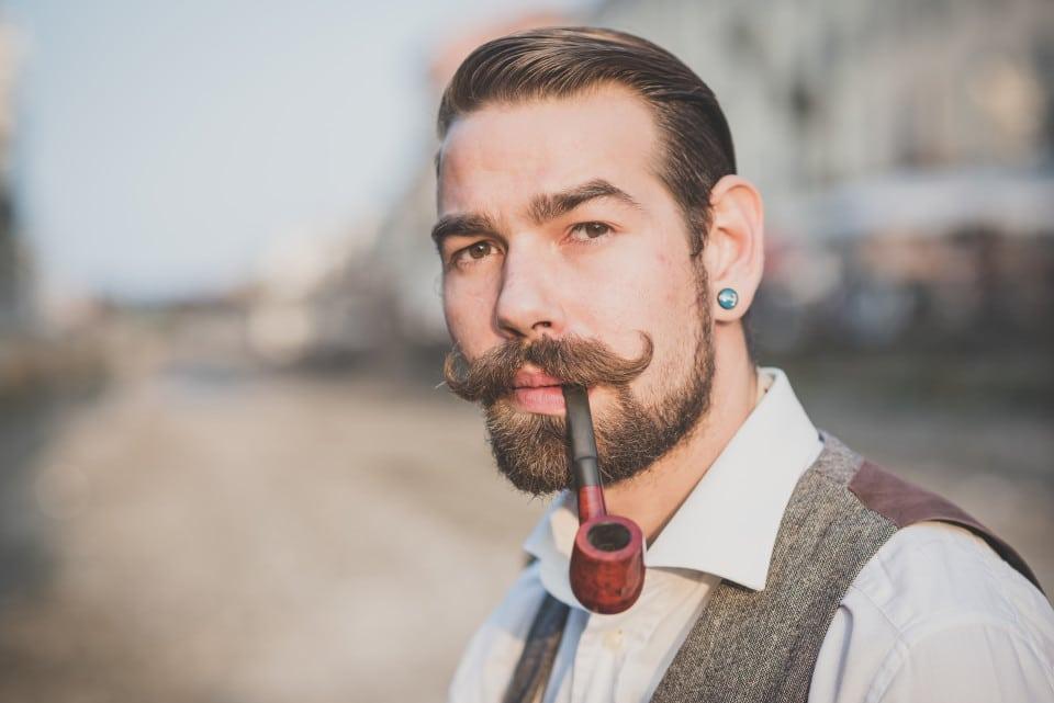 manly beard