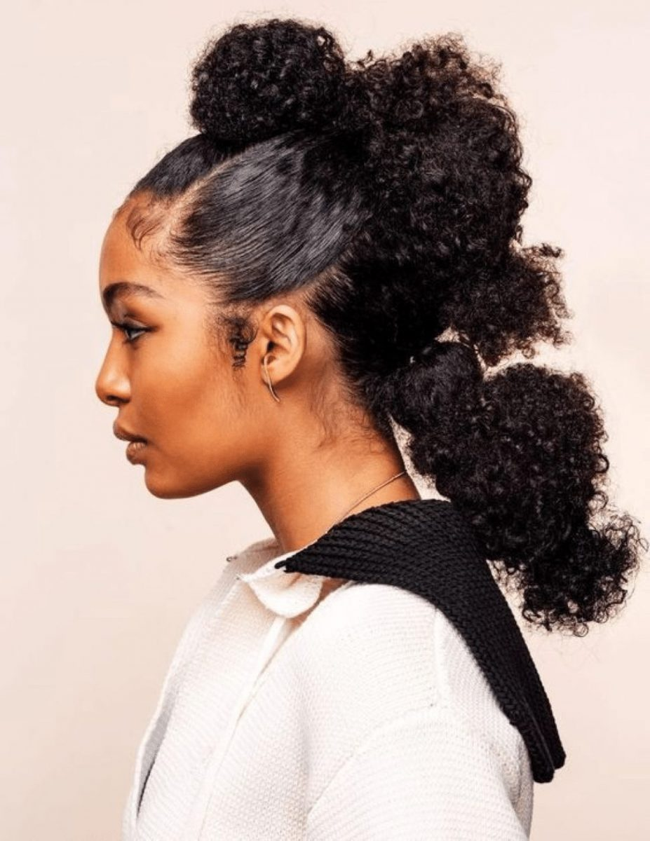 25 Black Ponytail Hairstyles To Try In 2021