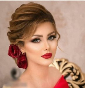 bridal hairstyle for long hair