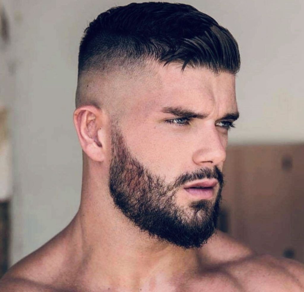 High and Tight Haircut With Beard