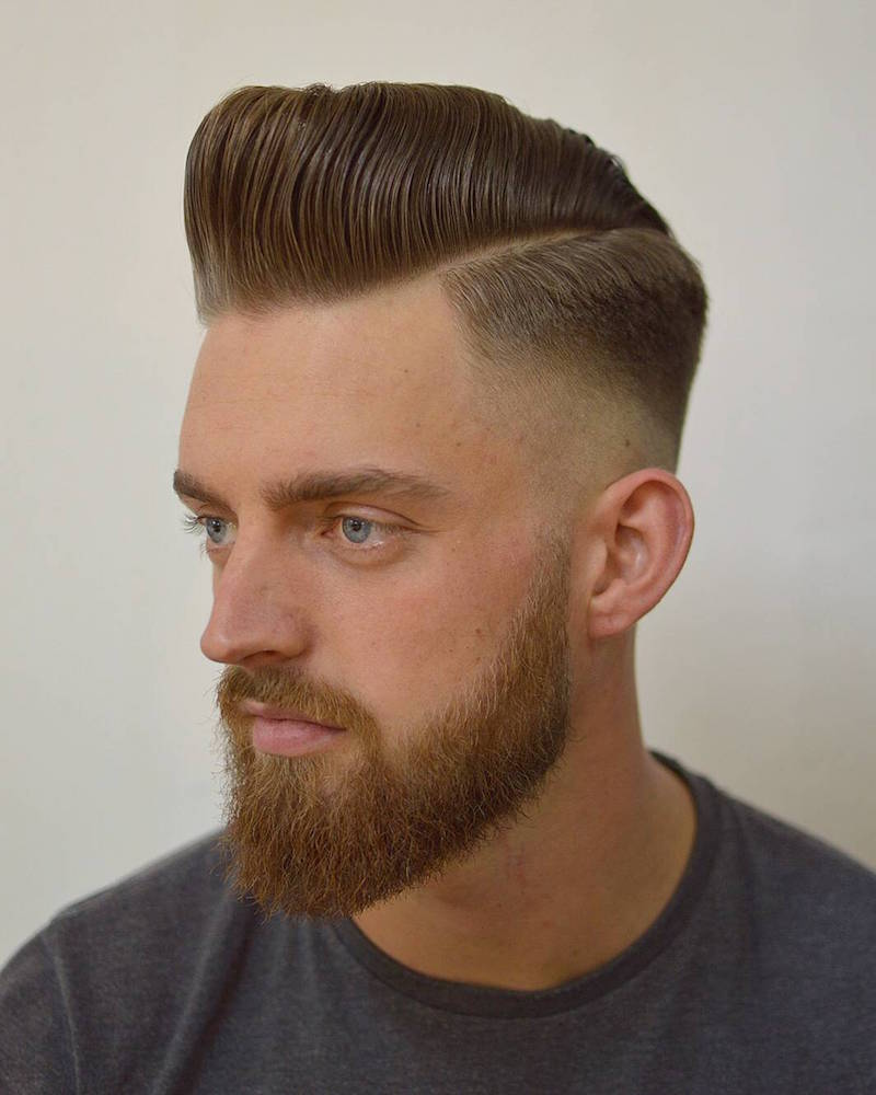 High and Tight Pompadour