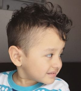 little boy comb over