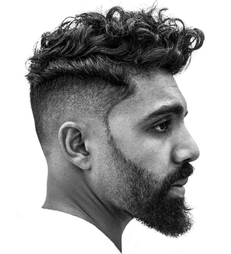 40 Men's Curly Hairstyles 2021