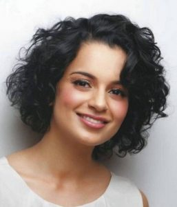 curly short hairstyles for indian women