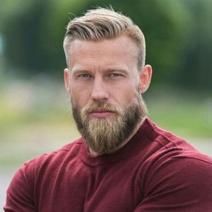 best haircuts for guys with big foreheads