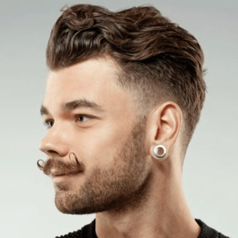 slick back hairstyle for men