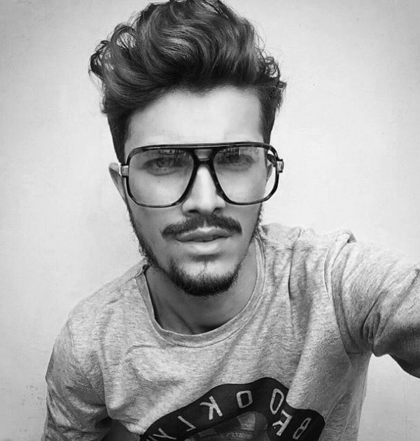 quiff curly hairstyles