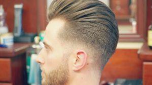 latest slick back hairstyle