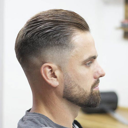 slick back hairstyles for long hair