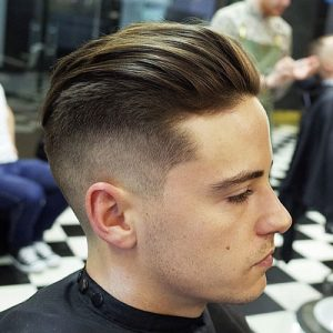 slicked back hairstyles for men 2021