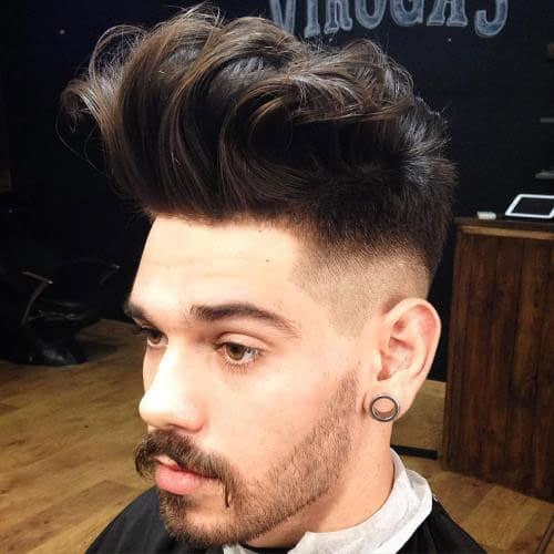 latest quiff hairstyles for men