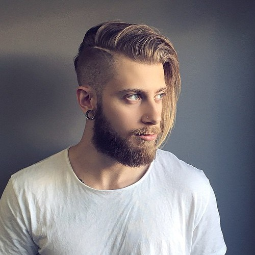 men;s hairstyles with long hair