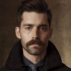stylish moustache styles for men
