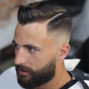 Beard with Fade Haircut