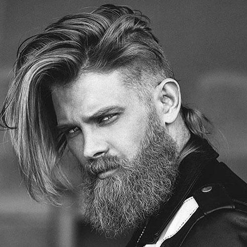 Long Hair with Long Beard