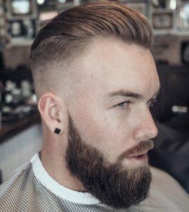 Short Hair with Short Beard