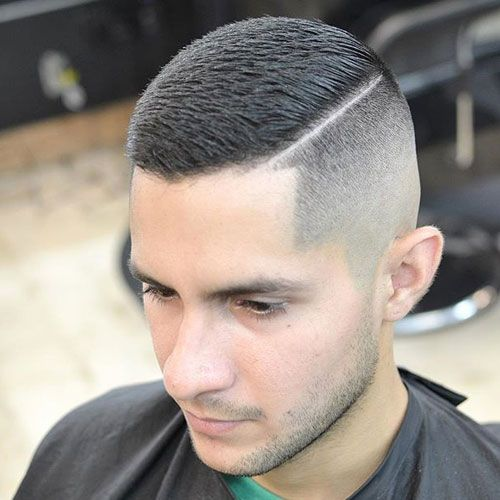 brush cut styles for men