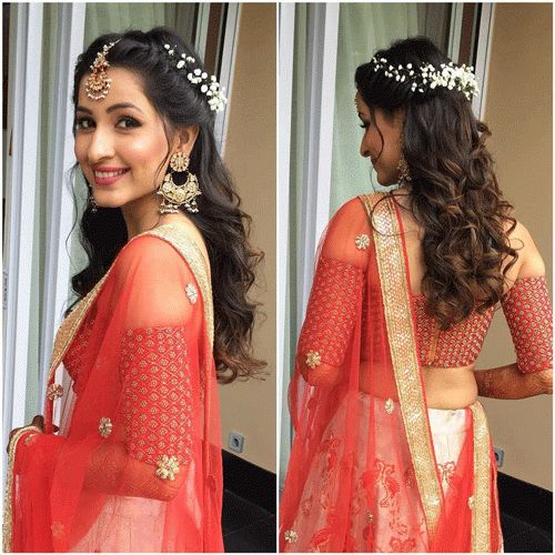 Hairstyle For Indian Wedding Function 2021 Best Hair Looks