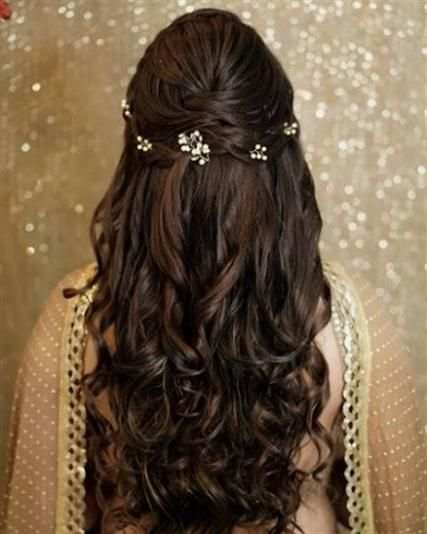 indian bridal loose hairstyles