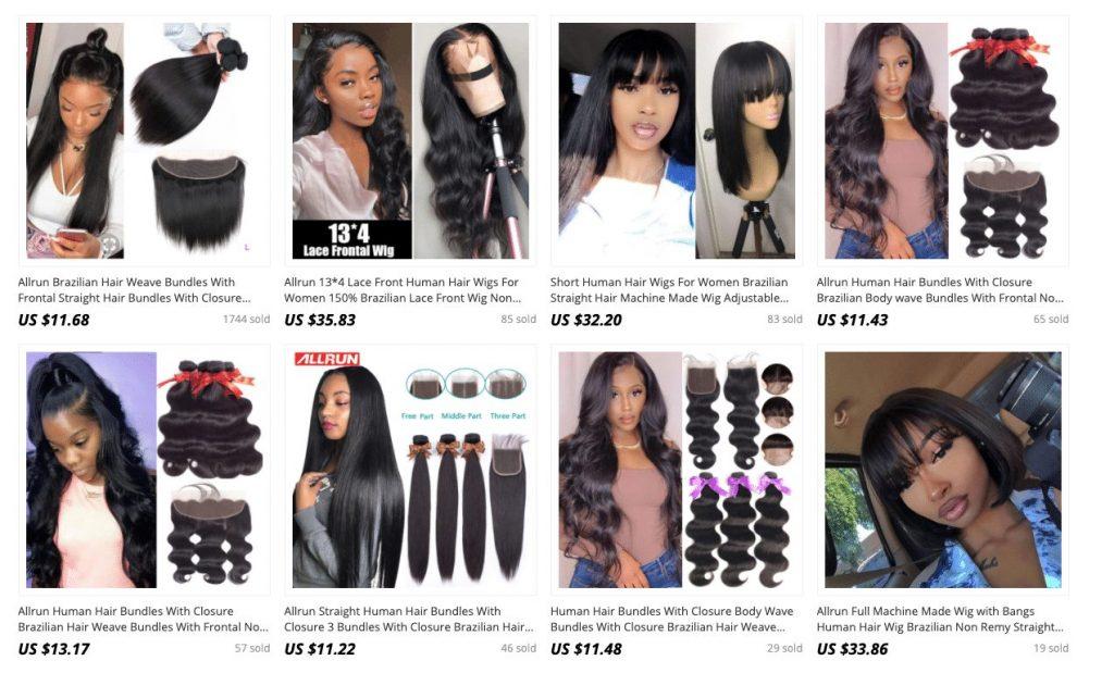 aliexpress hair seller review