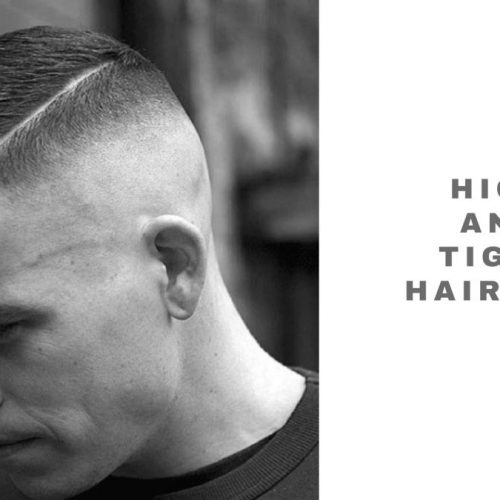 best high and tight haircuts