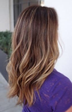 Soft Ombre Waves Highlights
