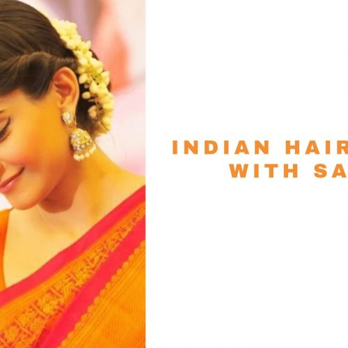 indian saree hairstyles