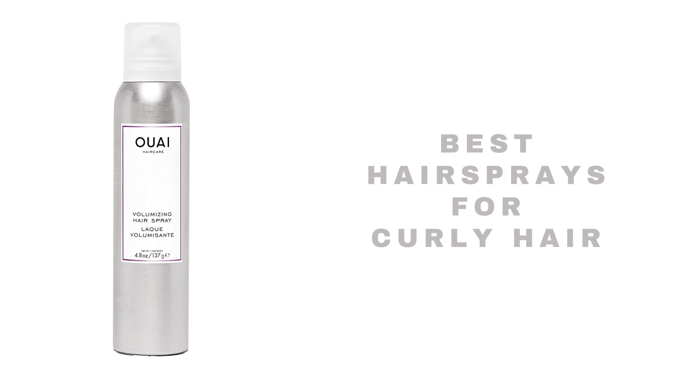 10 Best Hairsprays for Curly Hair 2021