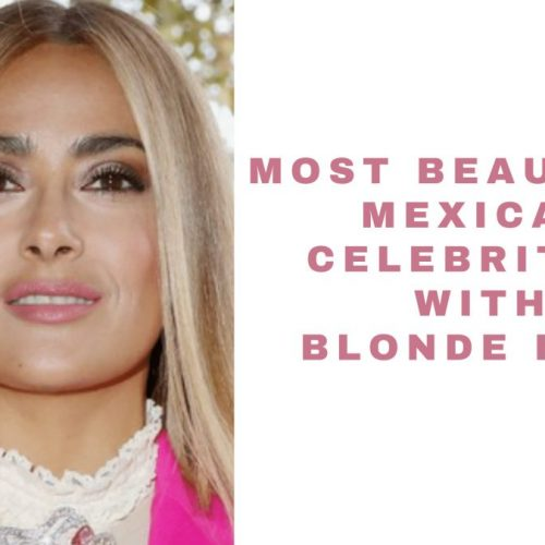 mexican celebrities with blonde hair