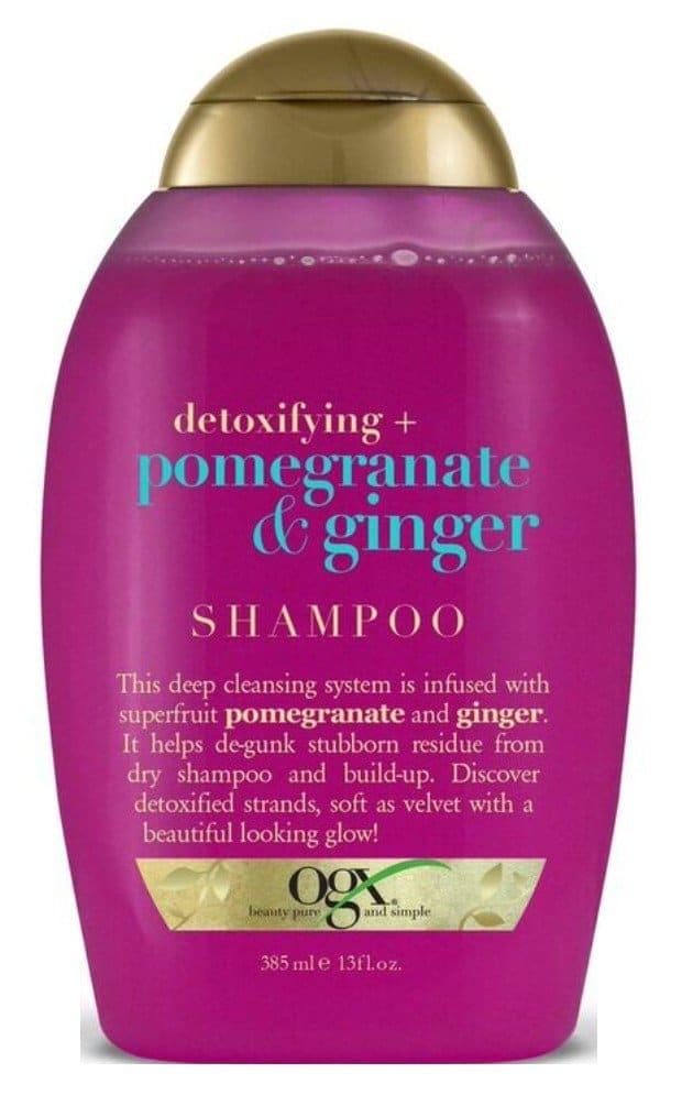 ogx pomegranate and ginger shampoo
