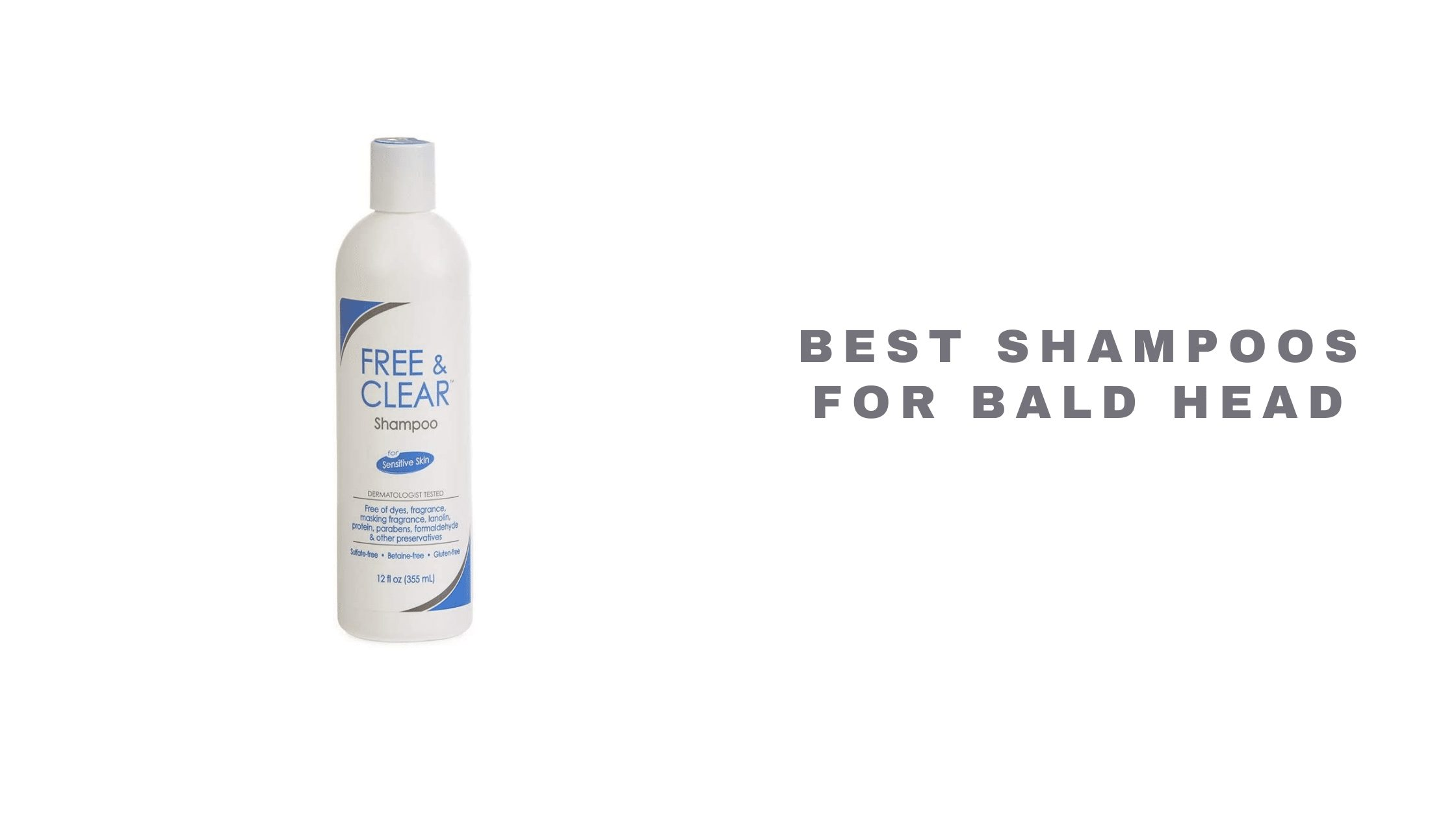 Best Shampoos for Bald Head 2021