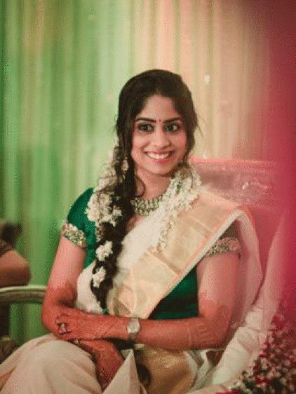 indian bridal hairstyle photos