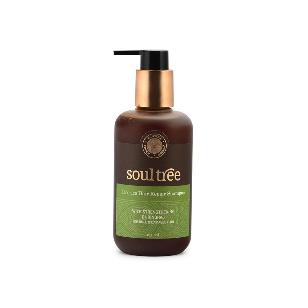 best organic shampoo for thinning hair in india