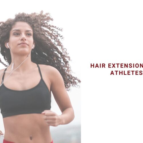 hair extensions for athletes