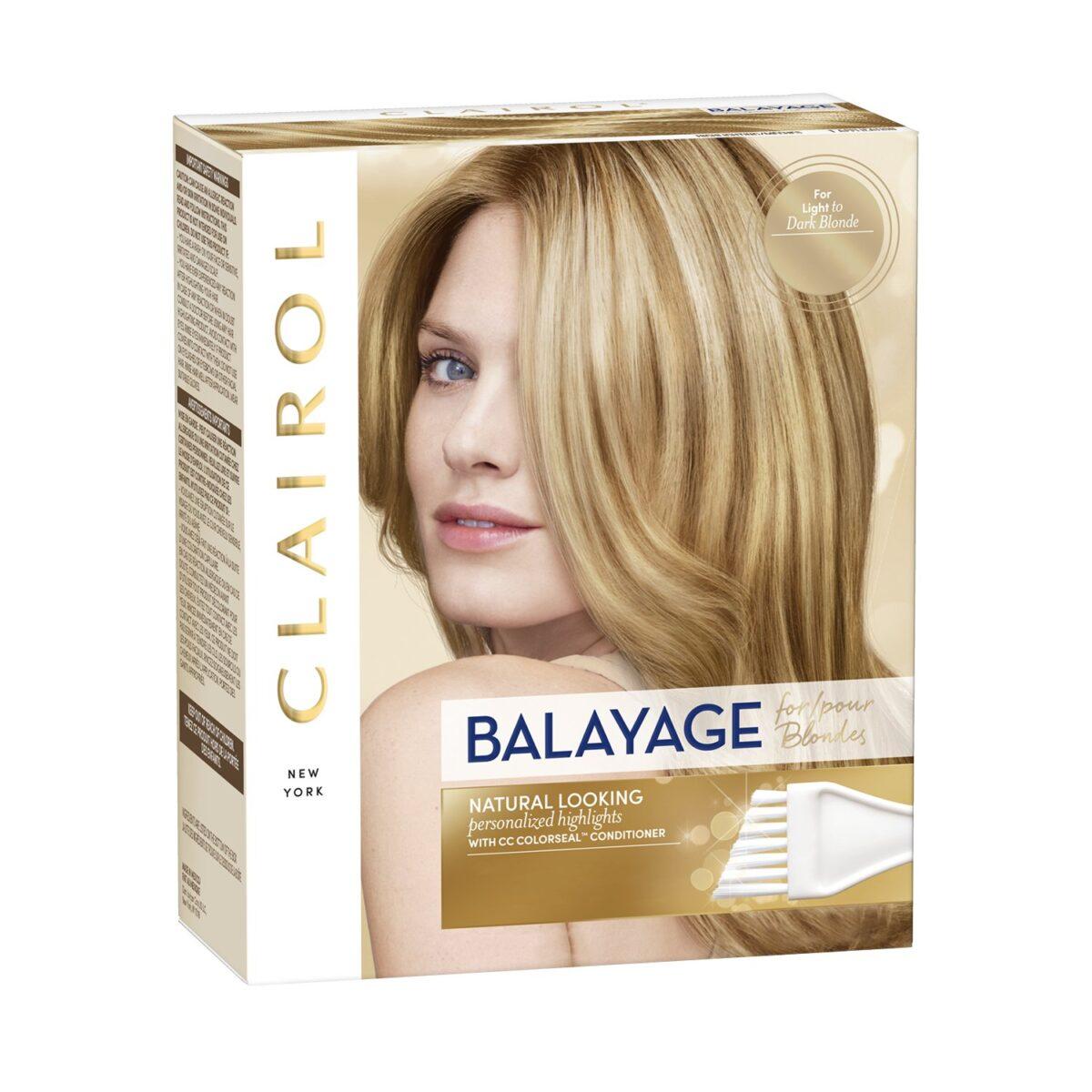 clairol balayage hair dye