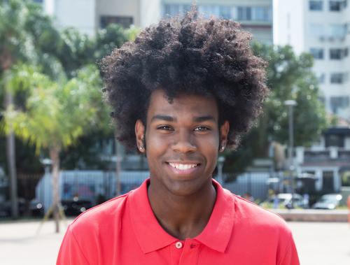 hairstyle black man