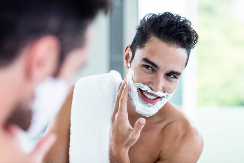 can you use shaving cream with electric clippers