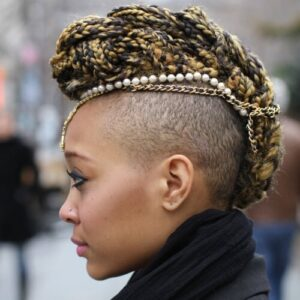 braided hairstyles for black females