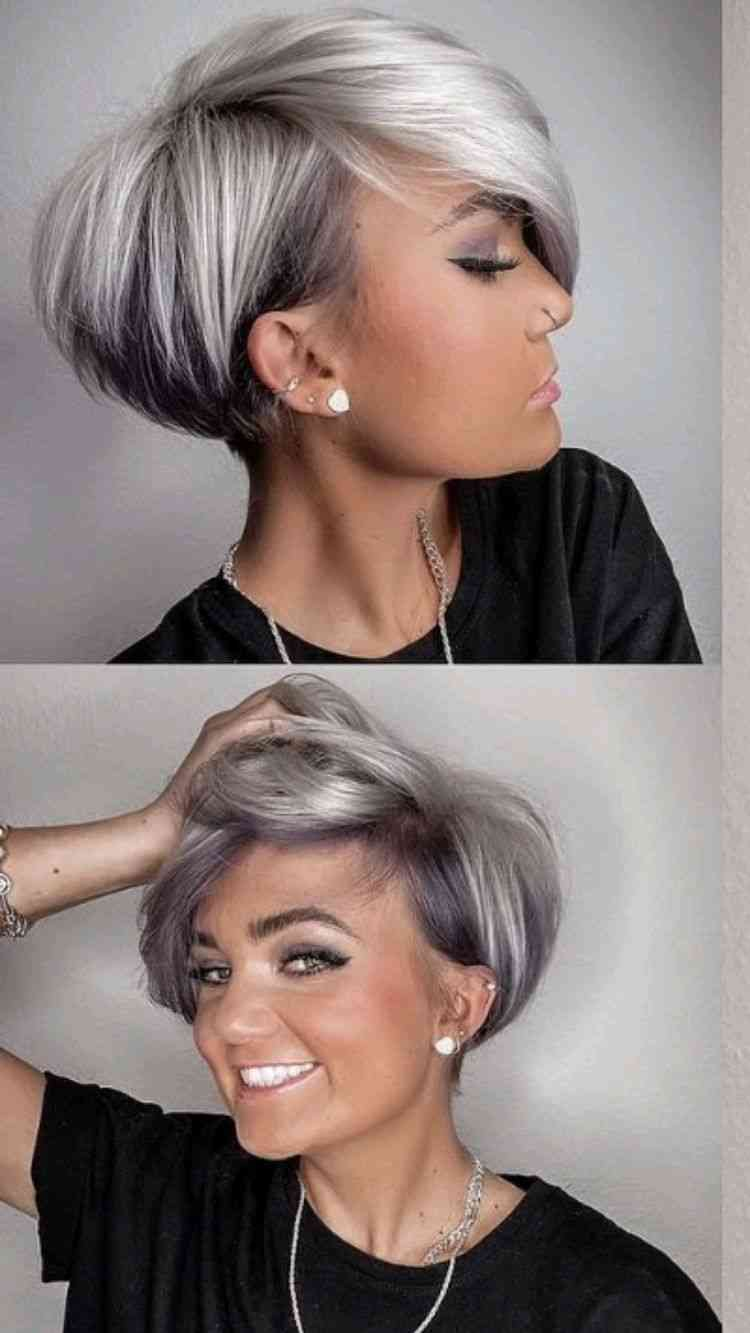 highlights for short hair 2021