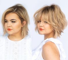 short hairstyles for fat faces and double chins 2021
