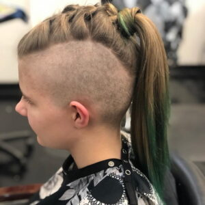braided mohawk hairstyles with shaved sides