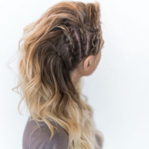braided mohawk hairstyles for long hair